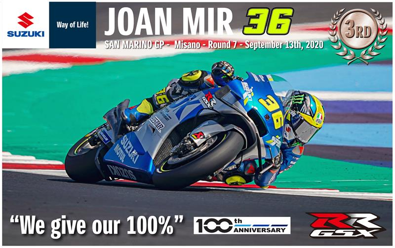 2020 Joan Mir Wallpaper-San Marino-High Res