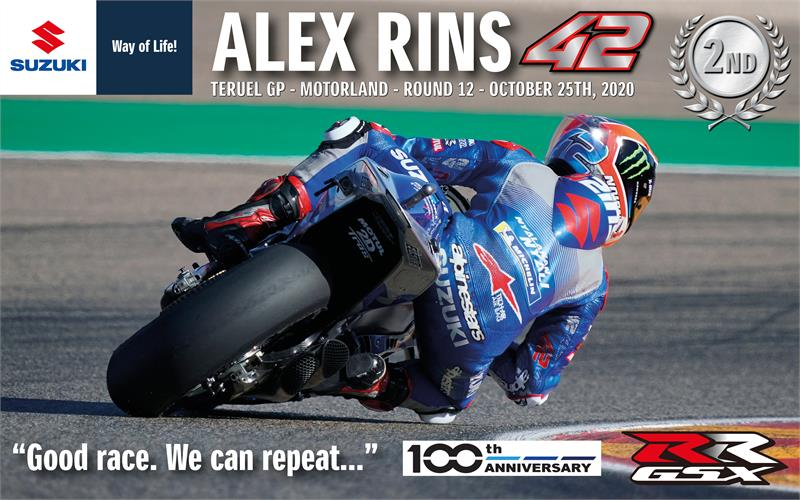 2020 Alex Rins Wallpaper-Aragon 2-High Res