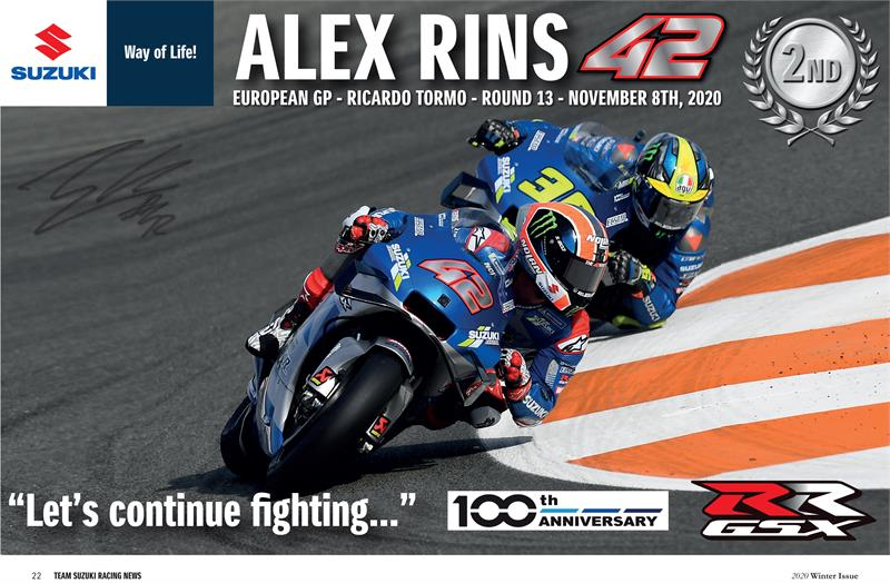 TSR Winter Magazine-Rins Signed Poster-1