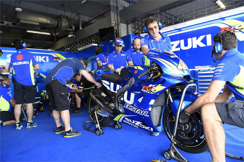 Buriram Test - D2 - Alex Rins-16