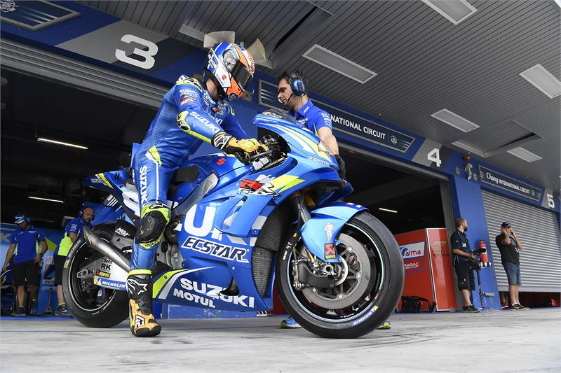 Buriram Test - D2 - Alex Rins-14