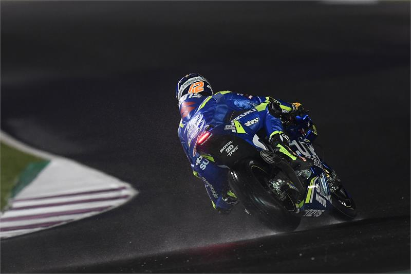 Qatar Test - D3 - Alex Rins-9