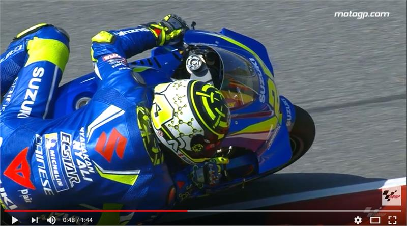 Suzuki in Action - Sachsenring