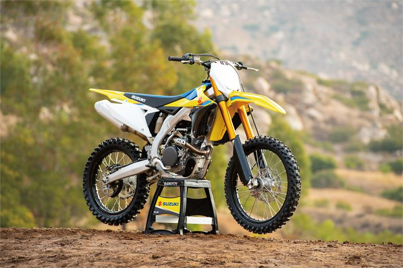 2019 RM-Z250 press launch