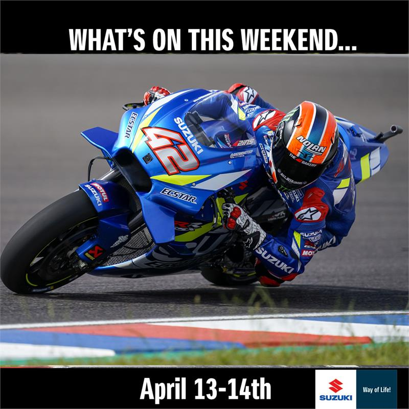 WEEKEND ACTION - April 13-14