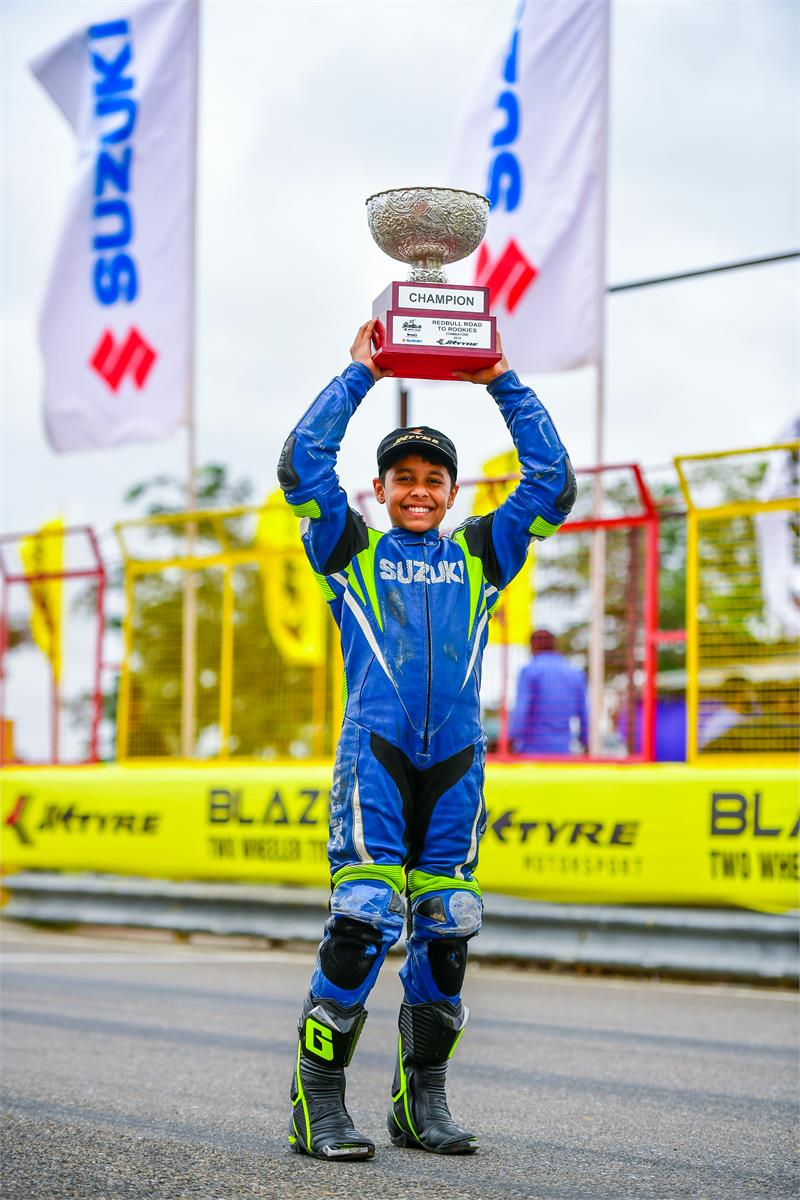 Gixxer Cup - Rokkies winner